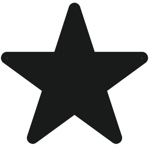 """Магнитно-меловая доска """"Звезда"""""""