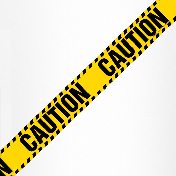 """Магнитная лента """"Caution"""""""