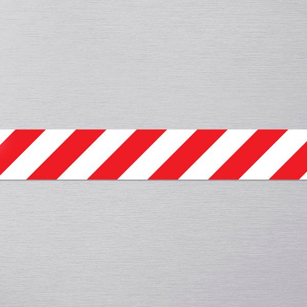 Красно-белая магнитная лента