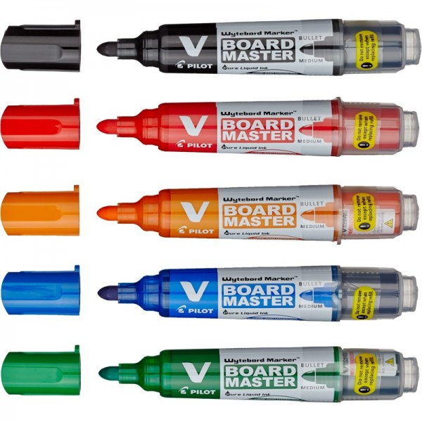 Набор маркеров для белых магнитных досок Pilot